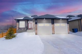 Photo 1: 2 West Plains Drive in Winnipeg: Sage Creek Residential for sale (2K)  : MLS®# 202101276