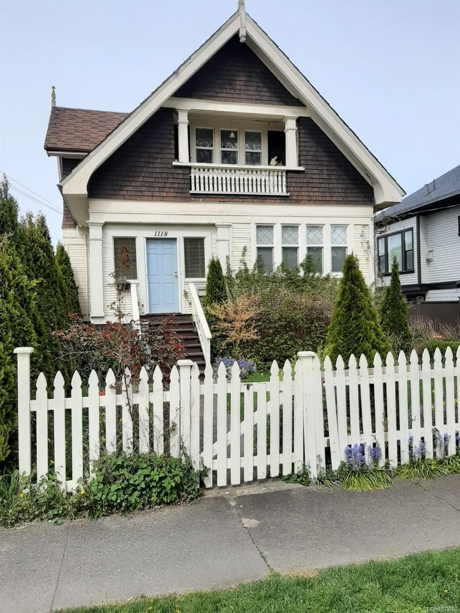 Main Photo: 1118 Chapman St in : Vi Fairfield East House for sale (Victoria)  : MLS®# 873768