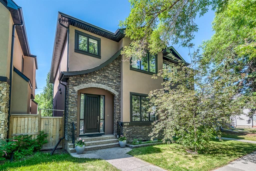 Main Photo: 421 12 Avenue NE in Calgary: Renfrew Semi Detached for sale : MLS®# A1145645