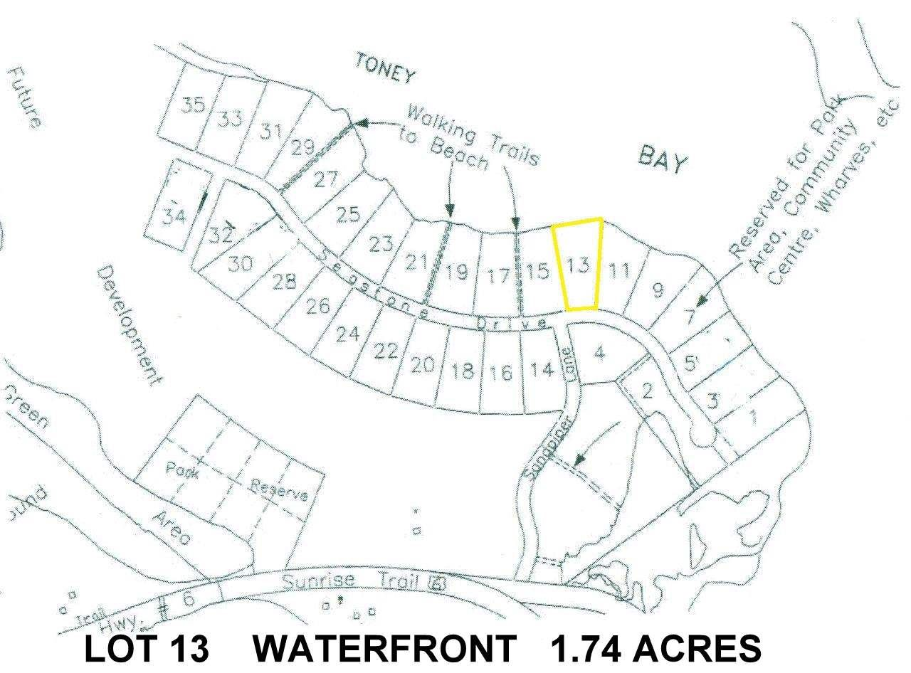 Main Photo: Lot 13 Sandpiper Lane in Port Howe: 102N-North Of Hwy 104 Vacant Land for sale (Northern Region)  : MLS®# 201827349