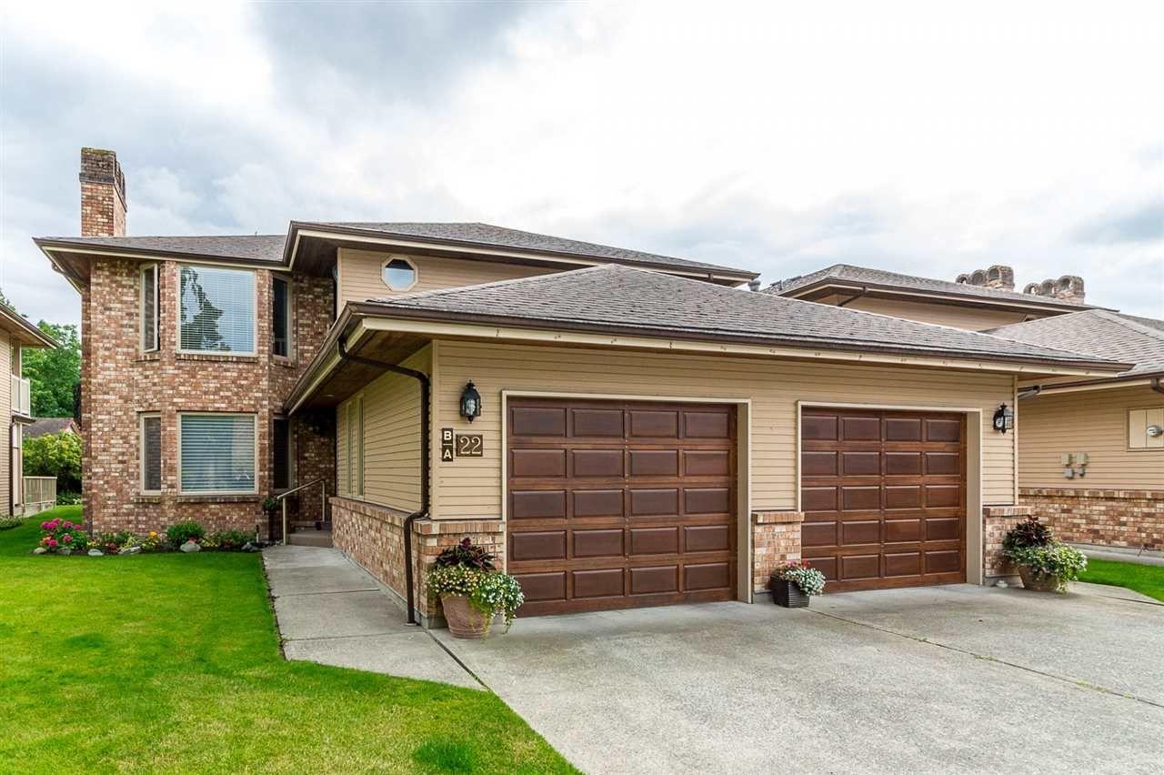 "Main Photo: 22A 7001 EDEN Drive in Sardis: Sardis West Vedder Rd Townhouse for sale in ""EDENBANK"" : MLS®# R2285457"