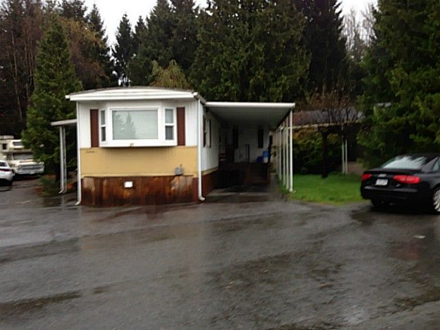 """Main Photo: 21 201 CAYER Street in Coquitlam: Maillardville Manufactured Home for sale in """"WILDWOOD PARK"""" : MLS®# V1095259"""