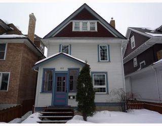 Photo 1: 183 CHESTNUT Street in WINNIPEG: West End / Wolseley Residential for sale (West Winnipeg)  : MLS®# 2903337