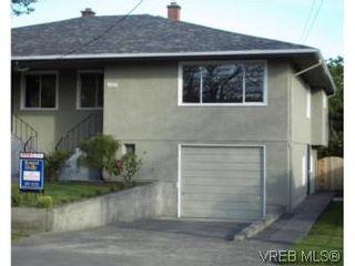 Photo 1: 1607 Chandler Ave in VICTORIA: Vi Fairfield East Half Duplex for sale (Victoria)  : MLS®# 504379
