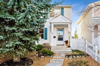 Main Photo: 154 Amiens Crescent SW in Calgary: Garrison Woods Semi Detached for sale : MLS®# A1154798
