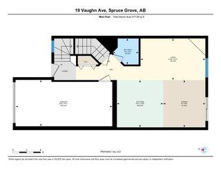 Photo 26: 19 VAUGHN Avenue: Spruce Grove House Half Duplex for sale : MLS®# E4232978