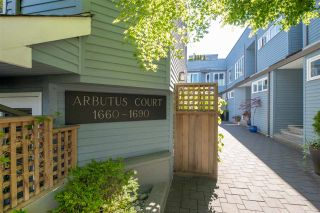 "Photo 15: 1676 ARBUTUS Street in Vancouver: Kitsilano Townhouse for sale in ""ARBUTUS COURT"" (Vancouver West)  : MLS®# R2527219"
