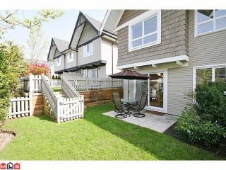 """Photo 9: 122 6747 203RD Street in Langley: Willoughby Heights Townhouse for sale in """"SAGEBROOK"""" : MLS®# F1008296"""
