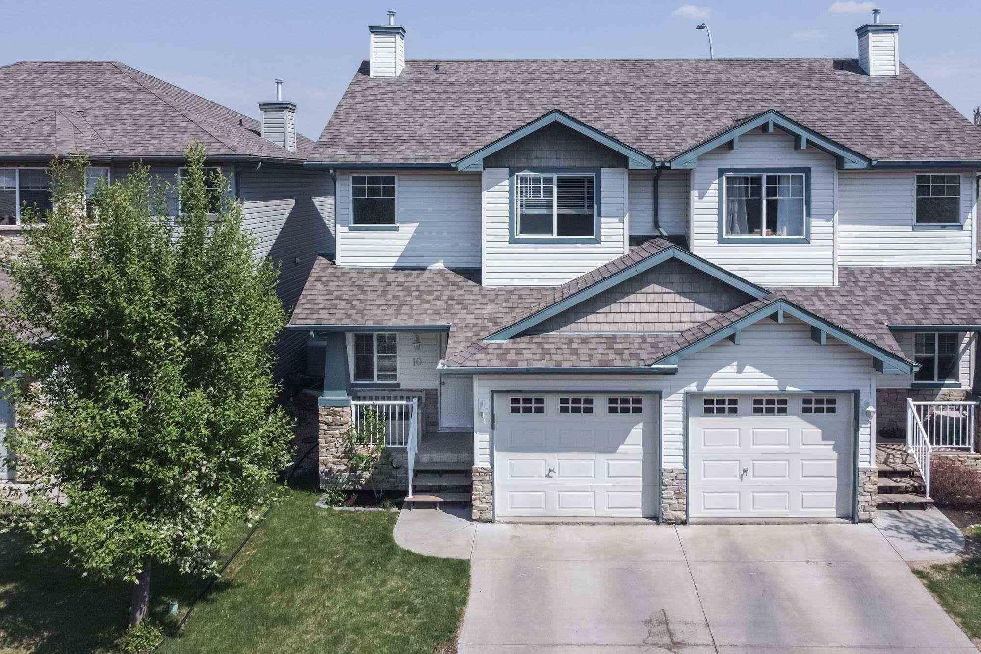 Main Photo: 10 6304 SANDIN Way in Edmonton: Zone 14 House Half Duplex for sale : MLS®# E4245581