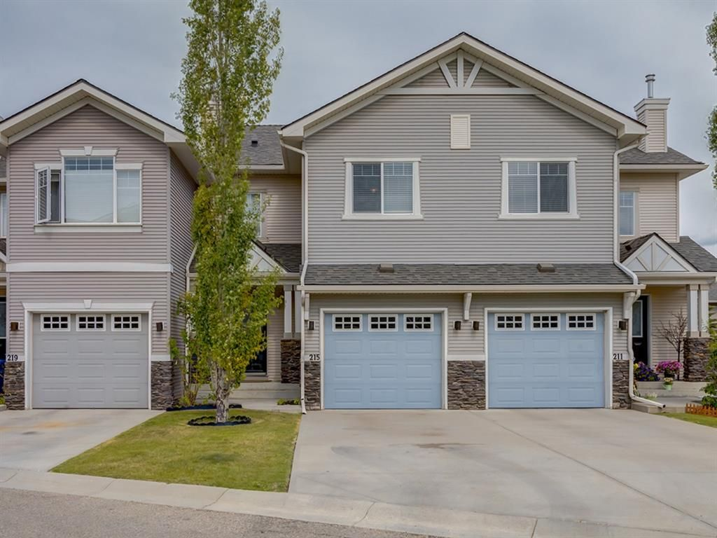 Main Photo: 215 371 Marina Drive: Chestermere Row/Townhouse for sale : MLS®# A1077596