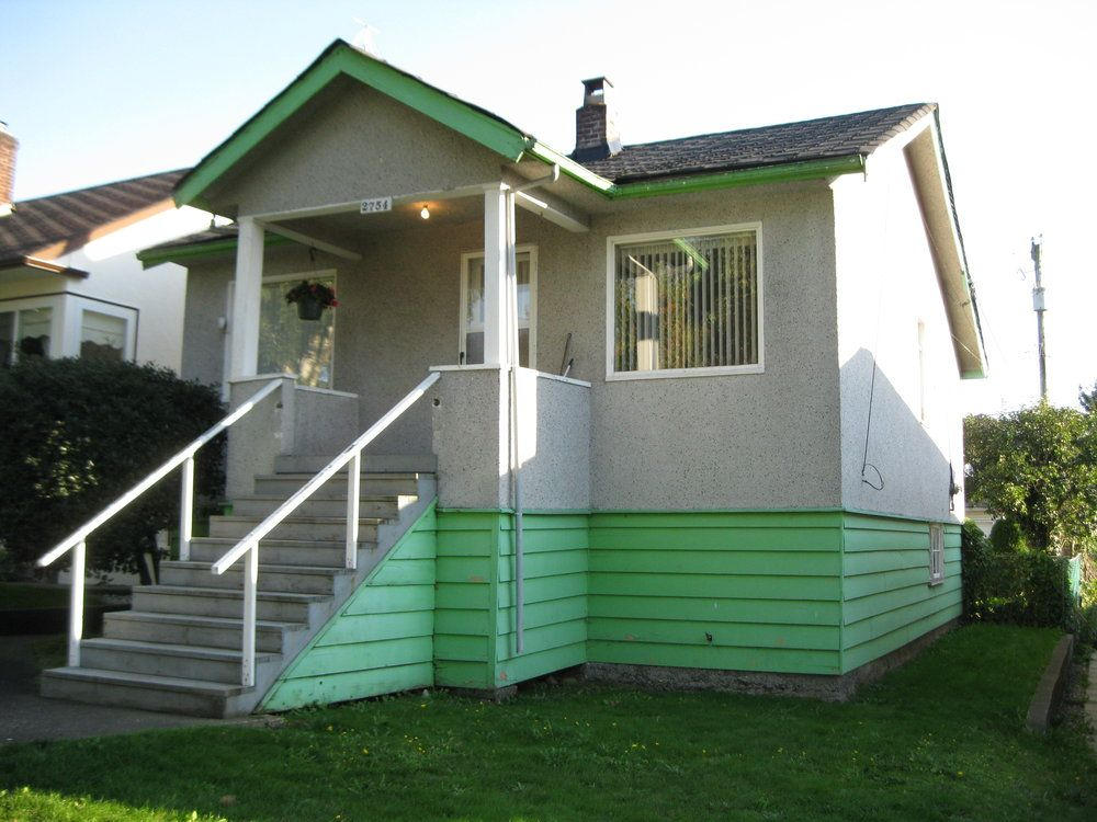 Main Photo: 2754 EAST 27th. AVENUE in VANCOUVER: House for sale : MLS®# V853008