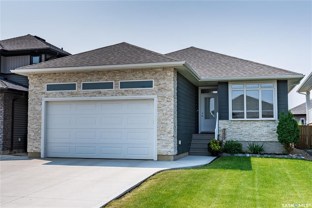 Main Photo: 759 Glacial Shores Bend in Saskatoon: Evergreen Residential for sale : MLS®# SK865019
