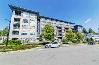 "Photo 1: 406 9877 UNIVERSITY Crescent in Burnaby: Simon Fraser Univer. Condo for sale in ""Veritas by Polygon"" (Burnaby North)  : MLS®# R2519653"