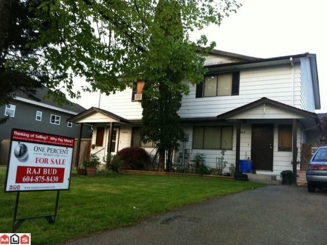 Main Photo: 9462 132A Street in Surrey: Queen Mary Park Surrey 1/2 Duplex for sale : MLS®# F1212449