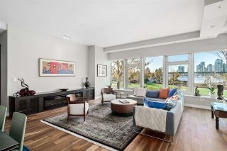 """Main Photo: 201 181 ATHLETES Way in Vancouver: False Creek Condo for sale in """"CANADA HOUSE"""" (Vancouver West)  : MLS®# R2530346"""