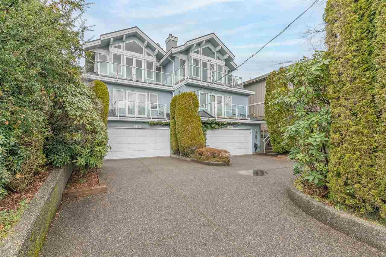 Main Photo: 2349 MARINE Drive in West Vancouver: Dundarave 1/2 Duplex for sale : MLS®# R2591585