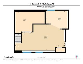 Photo 35: 115 COVEPARK Drive NE in Calgary: Country Hills Detached for sale : MLS®# A1071708