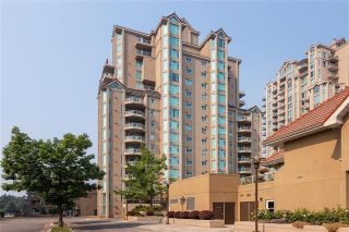 Photo 1: #1701 1152 SUNSET Drive, in KELOWNA: Condo for sale : MLS®# 10239037