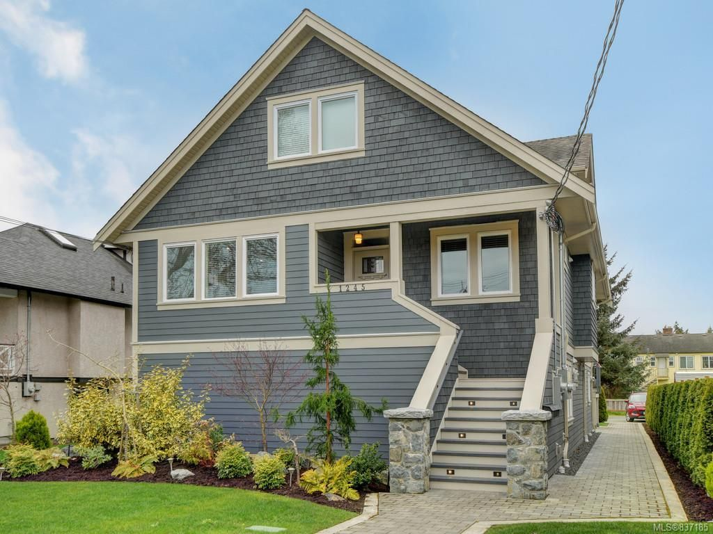 Main Photo: 2 1245 Chapman St in Victoria: Vi Fairfield West Row/Townhouse for sale : MLS®# 837185