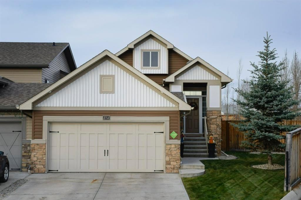 Main Photo: 214 Ranch Downs: Strathmore Semi Detached for sale : MLS®# A1048168