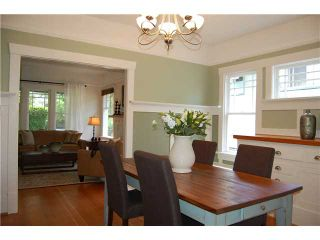 """Photo 4: 3826 LAUREL Street in Vancouver: Cambie House for sale in """"DOUGLAS PARK"""" (Vancouver West)  : MLS®# V839075"""