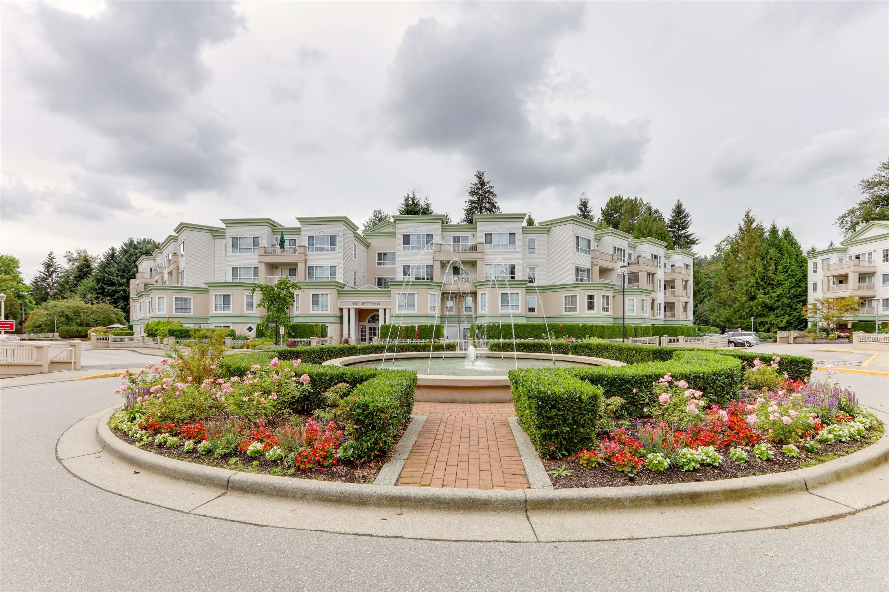 """Main Photo: 316 2960 PRINCESS Crescent in Coquitlam: Canyon Springs Condo for sale in """"THE JEFFERSON"""" : MLS®# R2620387"""