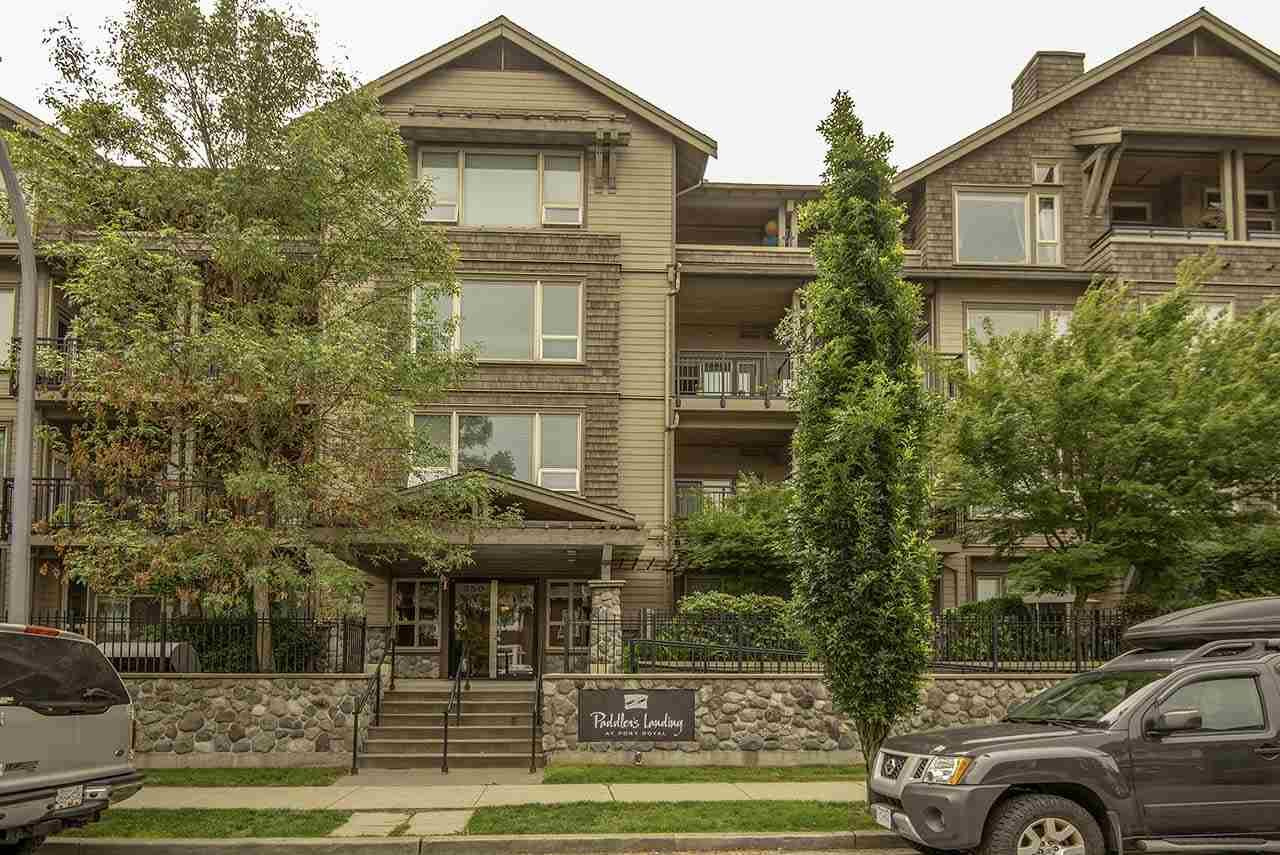 Main Photo: 103 250 SALTER STREET in New Westminster: Queensborough Condo for sale : MLS®# R2287298