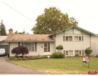 Photo 1: 2323 SOUTHDALE Crescent in Abbotsford: Abbotsford West House for sale : MLS®# F2713083