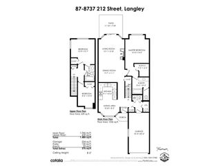 """Photo 34: 87 8737 212 Street in Langley: Walnut Grove Townhouse for sale in """"Chartwell Green"""" : MLS®# R2557412"""
