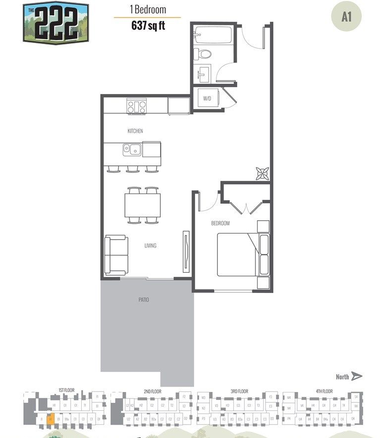 """Main Photo: 101 12320 222 Street in Maple Ridge: West Central Condo for sale in """"The 222 Phase 2"""" : MLS®# R2387829"""