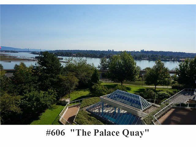 "Main Photo: 606 71 JAMIESON Court in New Westminster: Fraserview NW Condo for sale in ""THE PALACE QUAY"" : MLS®# V1085293"