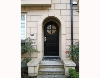 """Photo 2: 2951 LAUREL Street in Vancouver: Fairview VW Townhouse for sale in """"BROWNSTONE"""" (Vancouver West)  : MLS®# V702264"""
