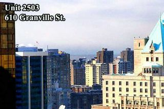 """Photo 9: 610 GRANVILLE Street in Vancouver: Downtown VW Condo for sale in """"THE HUDSON"""" (Vancouver West)  : MLS®# V622586"""