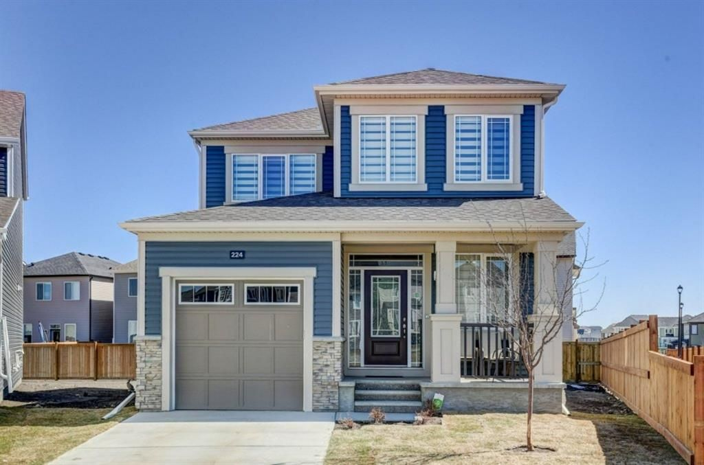 Main Photo: 224 Osborne Green SW: Airdrie Detached for sale : MLS®# A1097874