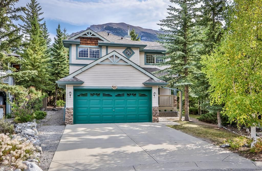 Main Photo: 511 Grotto Road: Canmore Detached for sale : MLS®# A1031497