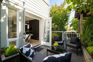 """Photo 11: 4472 W 8TH Avenue in Vancouver: Point Grey Townhouse for sale in """"Sasamat Gardens"""" (Vancouver West)  : MLS®# R2618782"""