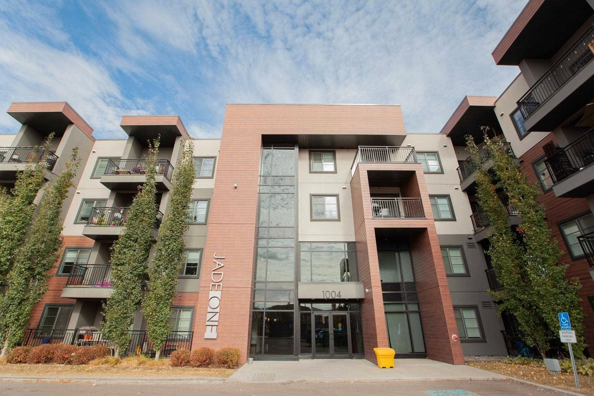 Main Photo: 407 1004 ROSENTHAL Boulevard in Edmonton: Zone 58 Condo for sale : MLS®# E4248881
