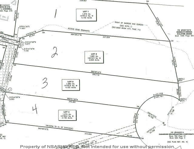 Main Photo: Lot 4 ELSHIRL Road in Plymouth: 108-Rural Pictou County Vacant Land for sale (Northern Region)  : MLS®# 202112050