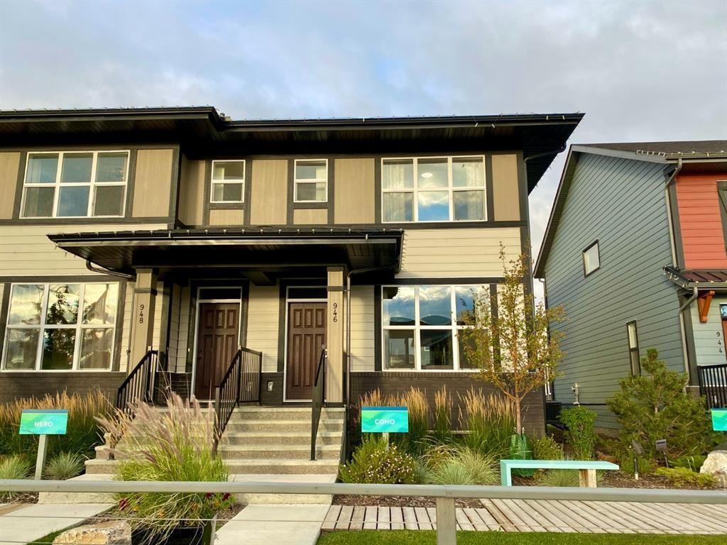 Main Photo: 946 Mahogany Boulevard SE in Calgary: Mahogany Semi Detached for sale : MLS®# A1146730