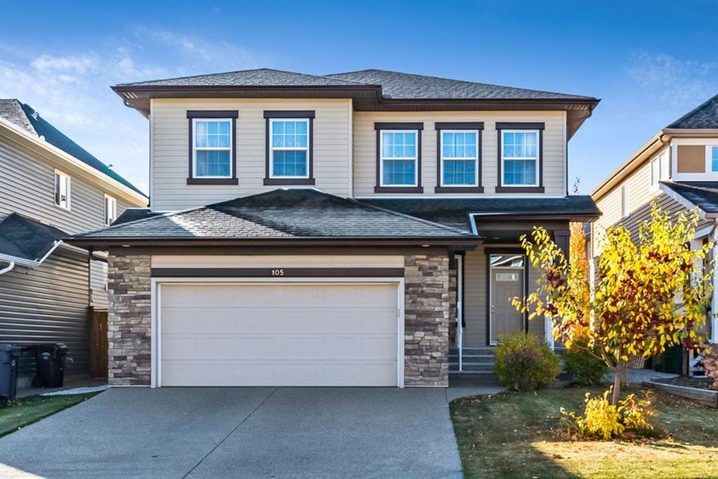 Main Photo: 105 Silverado Bank Circle SW in Calgary: Silverado Detached for sale : MLS®# A1153403