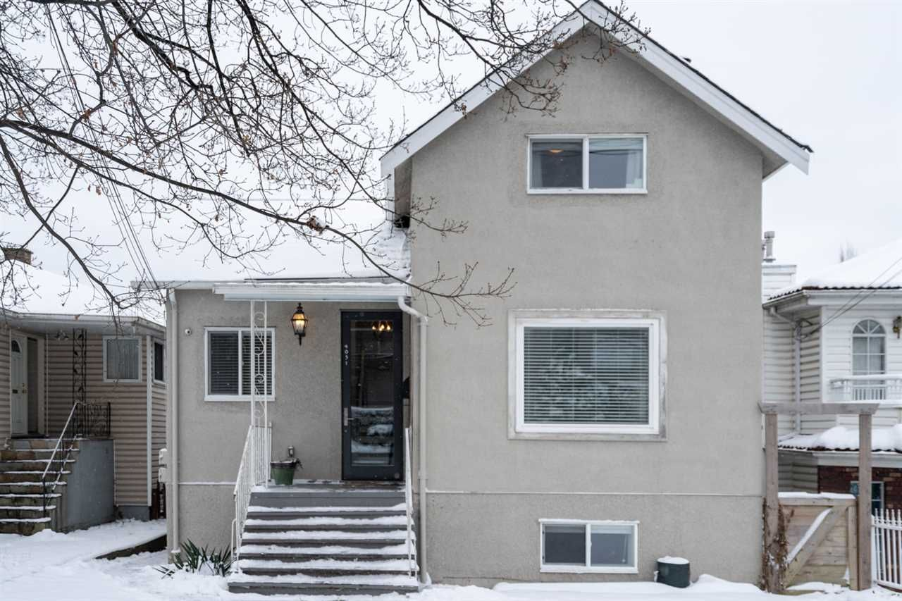 Main Photo: 4031 VICTORIA DRIVE in Vancouver: Victoria VE House for sale (Vancouver East)  : MLS®# R2429098