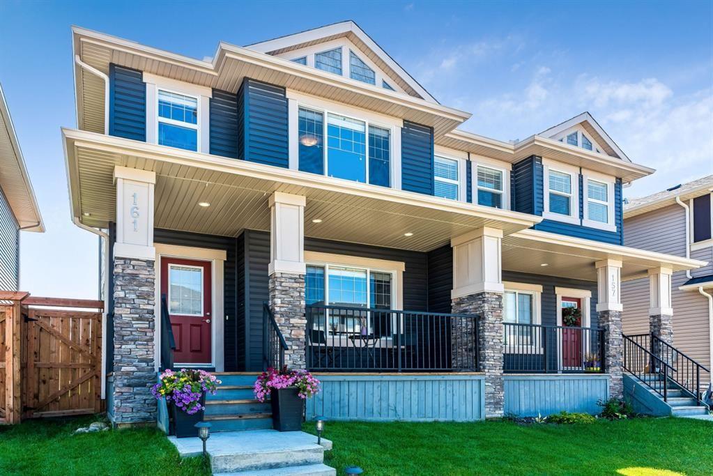 Main Photo: 161 Willow Green: Cochrane Duplex for sale : MLS®# A1020334