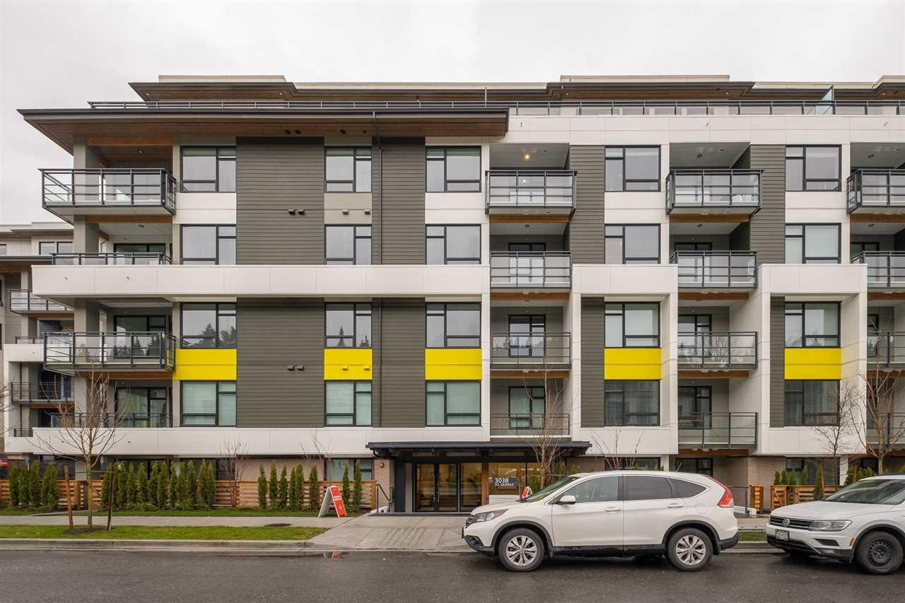 """Main Photo: 315 3038 ST. GEORGE Street in Port Moody: Port Moody Centre Condo for sale in """"GEORGE BY MARCON"""" : MLS®# R2555633"""