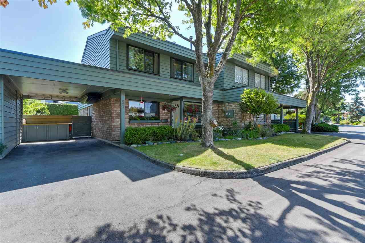 """Main Photo: 91 3031 WILLIAMS Road in Richmond: Seafair Townhouse for sale in """"EDGEWATER PARK"""" : MLS®# R2287308"""