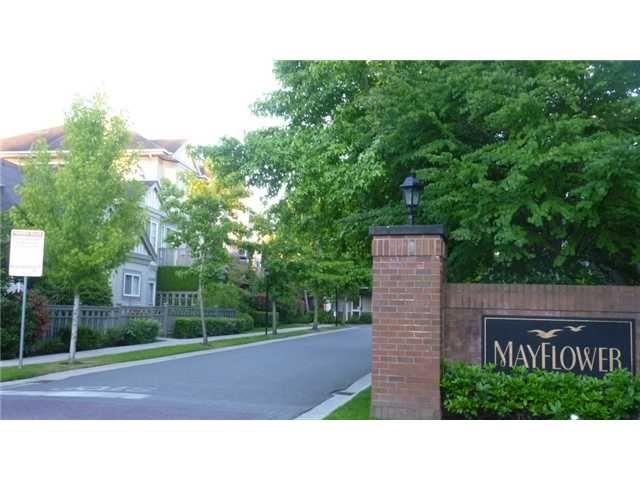 "Main Photo: 78 3880 WESTMINSTER Highway in Richmond: Terra Nova Townhouse for sale in ""MAYFLOWER"" : MLS®# V1018110"
