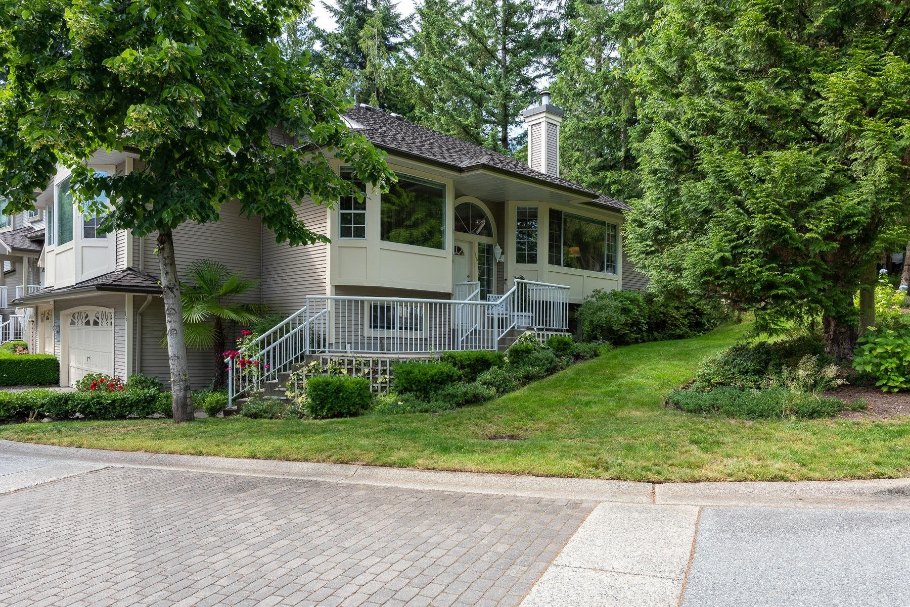 Main Photo: 85 101 PARKSIDE Drive in Port Moody: Heritage Mountain Townhouse for sale : MLS®# R2612431