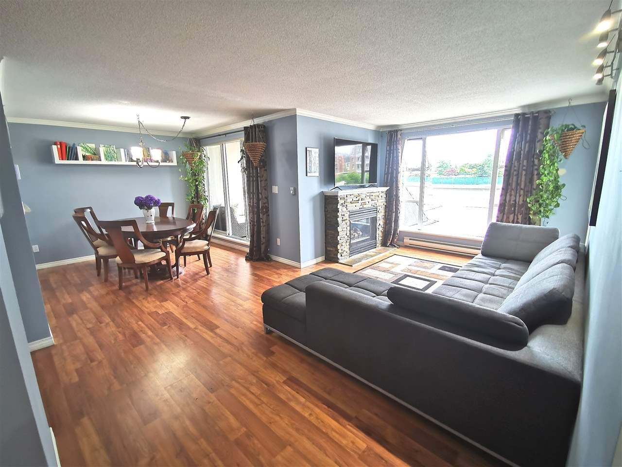 """Main Photo: 301 1180 PINETREE Way in Coquitlam: North Coquitlam Condo for sale in """"FRONTENAC TOWER"""" : MLS®# R2386668"""