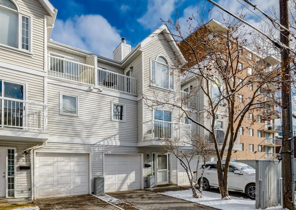 Main Photo: 2 533 14 Avenue SW in Calgary: Beltline Row/Townhouse for sale : MLS®# A1085814