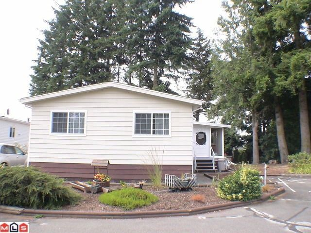 "Main Photo: 196 3665 244TH Street in Langley: Otter District Manufactured Home for sale in ""LANGLEY GROVE ESTATES"" : MLS®# F1028476"