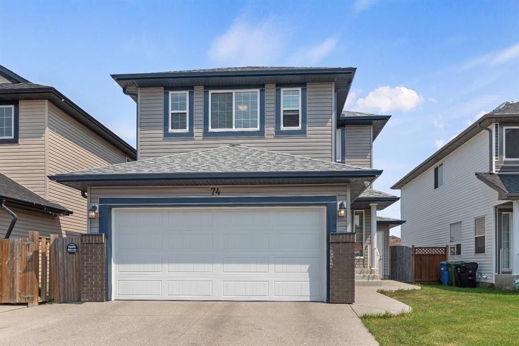 Main Photo: 74 Saddleland Crescent NE in Calgary: Saddle Ridge Detached for sale : MLS®# A1133172